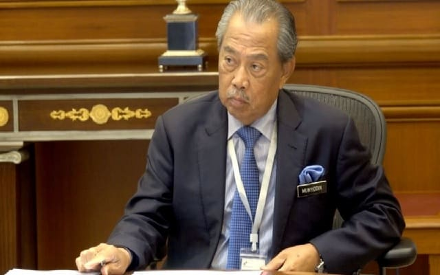 PN menang undi belanjawan tapi Muhyiddin masih PM tanpa keabsahan