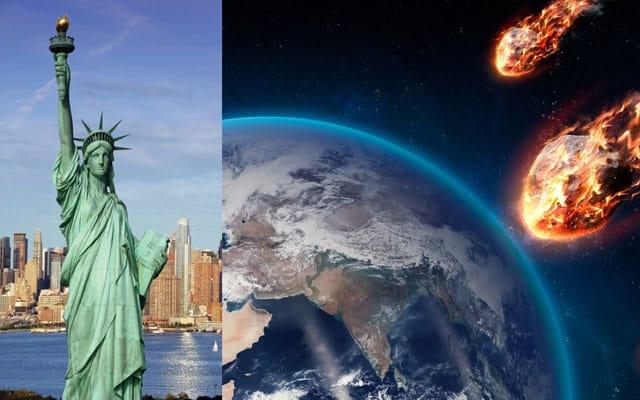 Gempar !!! Asteroid gergasi bersaiz 3 kali ganda Patung Liberty melintas menghampiri Bumi bulan ini