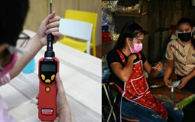 Thailand tampil dengan kaedah baru untuk kesan Covid-19 melalui peluh ketiak