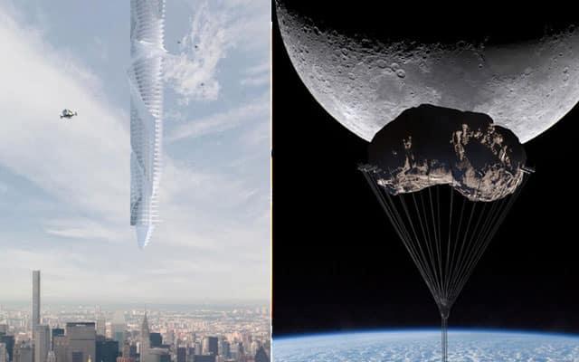 GILA !!! Dubai bakal bina menara tergantung di atas langit