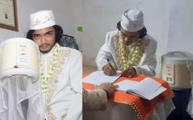 Lelaki cerai periuk nasi selepas 4 hari bernikah