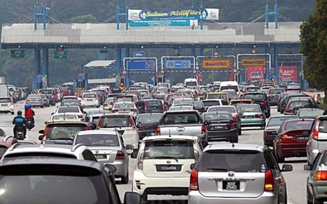 Rentas negeri : Dijangka 160,000 kenderaan sehari ke Pantai Timur